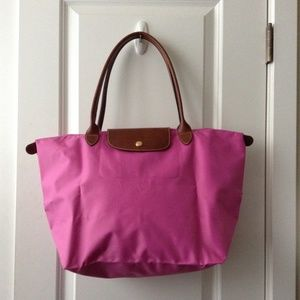 LONGCHAMP Le Pliage Large Shoulder Tote Bag Bubble